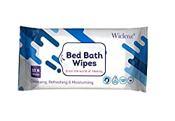 WICLENZ BEST BED BATH WIPES PACK OF 50 WIPES