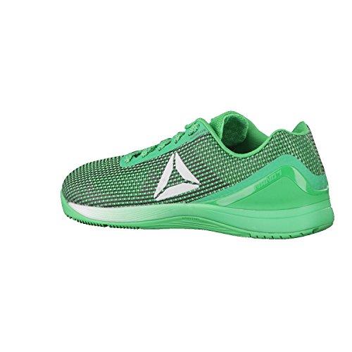 Reebok R Crossfit Nano 7.0, Chaussures de Fitness Homme Vert (Verde Bottle Green/black/white/silver)