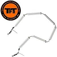 TFT Tremarella Glas Federketten - Federkette zum Forellenangeln, Glasfederkette zum Angeln auf Forelle, Tremarellaangeln