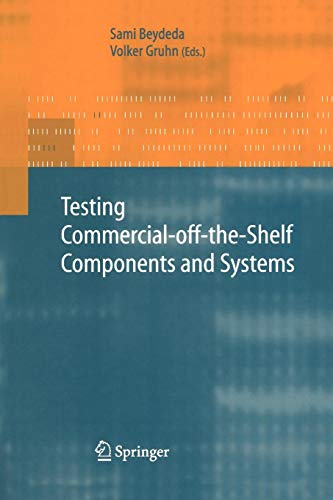 Testing Commercial-off-the-Shelf Components and Systems