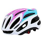 HHQ Rennrad Helm integriert Form Helm Helm Sport Outdoor Helm Ausrüstung (Farbe : Pink-M)