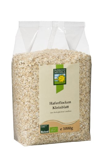 Image of Bohlsener Mühle Bio Haferflocken Kleinblatt, 4er Pack (4 x 1 kg)