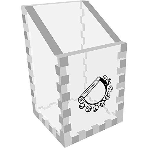 Azeeda Mini 'Tambourin' Klar Schreibtisch Aufgeräumt / Stiftehalter (DT00030858)