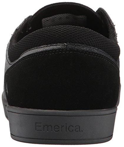Emerica La Figueroa, Scarpe De Skateboard Da Uomo Noir / Gris / Argent