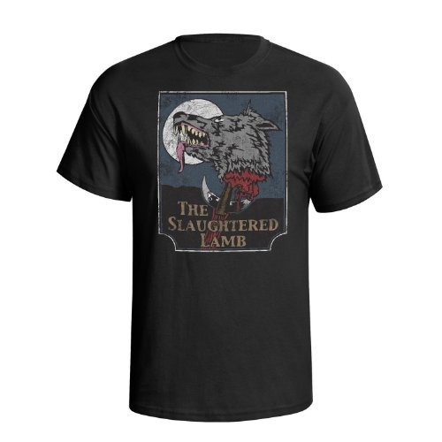 The Slaughtered Lamb Mens Movie Inspired t shirt