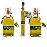 Olipaterna Olivenöl Kaltgepresstes Extra Virgin   Aus Andalusien   100% natürliches & reines Olivenöl für Feinschmecker   2 Stück 250 ml Glas   100 ml Glas Olipaterna Geschenk