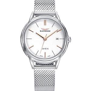 Sandoz – Reloj Acero Brazalete Sra Heritage Sa – 81356-07