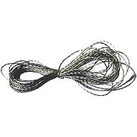Homyl Hilo de Coser Conductor de Acero Inoxidable Conductividad Eléctrica 6 ohms / pies / 30 cm
