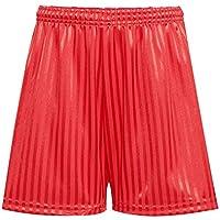Rohi Shadow Unisex Stripe Gym Sports Games School PE Shorts - Children's Drawstring PE Shorts Uniform
