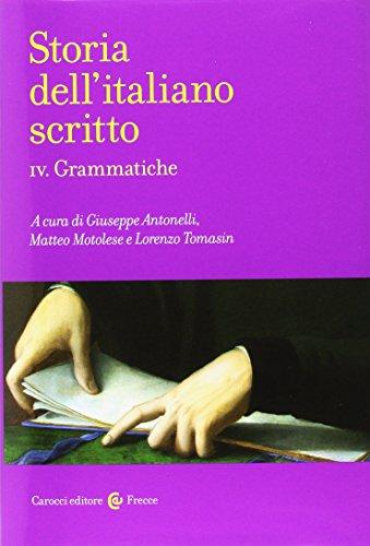 Storia dell'italiano scritto: 4