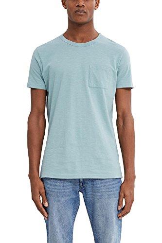 ESPRIT Herren T-Shirt Grün (Dusty Green 335)