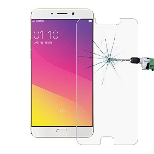 Gehärtete Folie Handy-Film, HD Glasschicht 10 PCS for Oppo R9 Plus 0.26mm 9H Oberflächenhärte 2.5D explosionssichere ausgeglichenes Glas-Schirm-Film
