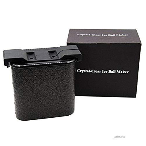 Kristallklare Ice Ball Maker - Ice Ball Kugeln Whiskey Schimmel Maker, 6 cm Eiswürfelschale ... - Silikon-eis-kugel-schimmel