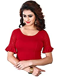 CDPL Express Stretchable Lycra Cotton Free Size Readymade Blouse For Women