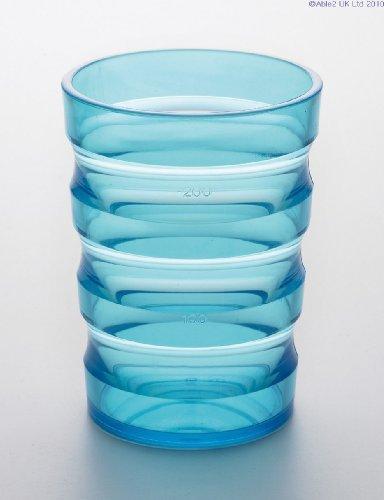 Lage2 Sicherer Griff - tropffreier Becher - Blau