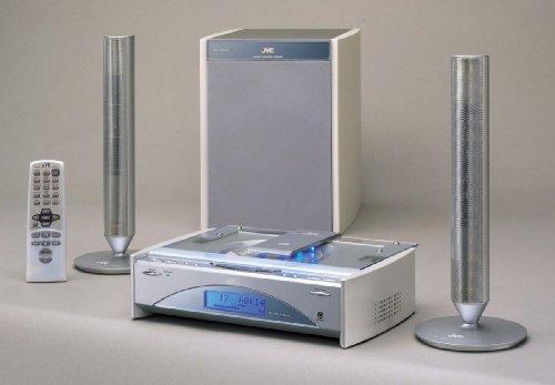 JVC FS-SD 1000R Kompaktanlage silber