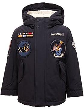 5367T giacca bimbo FREEDOMDAY EBEN blu giaccone doppio jacket kid