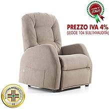 Amazon.it: poltrona relax 2 motori - Goldflex
