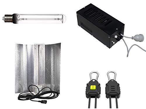 Generic Grow Light Set 600 Watt: VSG, Reflektor, NDL/MH und Aufhängung (600 Watt)