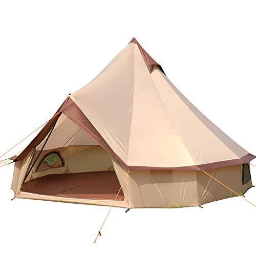 Xajgw tenda da spiaggia large beach shelter 8-10 people with sun protection design, pop up ombrello sun shelter per adulti beach family