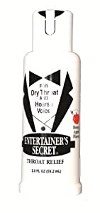 Farley's Entertainer's Secret Throat Relief Spray