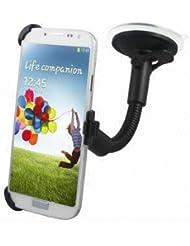 Excellent Value de pare-brise de voiture Holder support pour Samsung GT-i9500 S4 noir