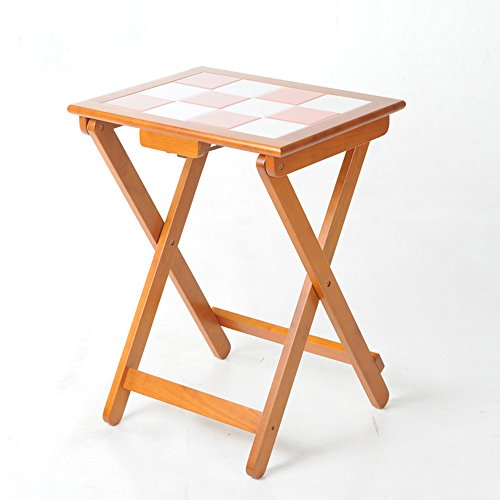 Legno solido tavolo pieghevole simple home piccolo for Tavolo da pranzo piccolo