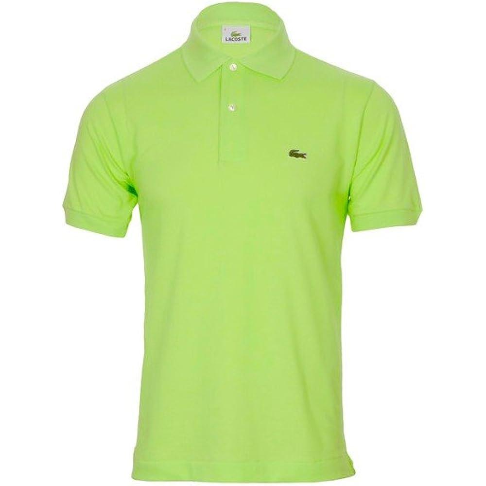 Lacoste polo,maglietta per uomo maniche corte,100% cotone l1212-00 L1212-03