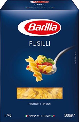 Barilla Pasta Nudeln Fusilli n. 98, 1er Pack (1 x 500 g)