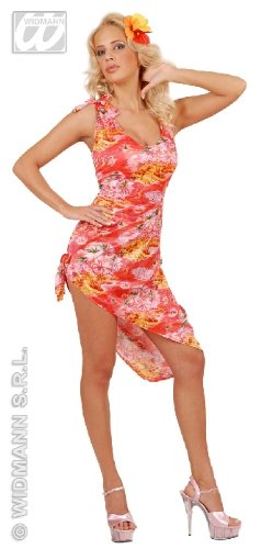 KOSTÜM - HAWAII GIRL - Größe 42/44 (L), Suedsee Luau Aloha Karibik Beach (Südsee Kostüme)