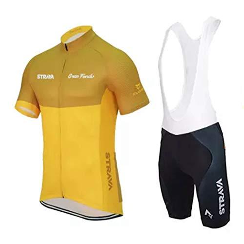 Maillots de Cyclisme pour Hommes Ensemble Route à Manches Courtes d'été vélo vélo vélo Maillot ensembles MTB vêtements de vélo d'équitation
