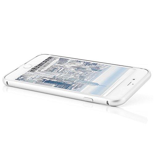 zanasta iPhone 7 (4,7) Custodia + Vetro Temperato 3D Cover Ultra Slim Bumper Case (con Jack) del Respingente Antiurto | Alta Qualità di Protezione Sottile e Elegante Design Nero (Jet Black) [Vetro Pro Argento