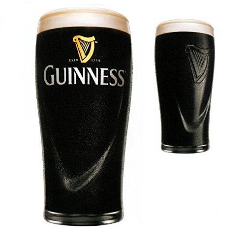 Bicchiere mezza pinta birra guinness cl. 25 set 6 pz.