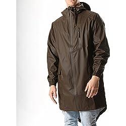 Rains Abrigo Impermeable Para Hombre Color Marrón