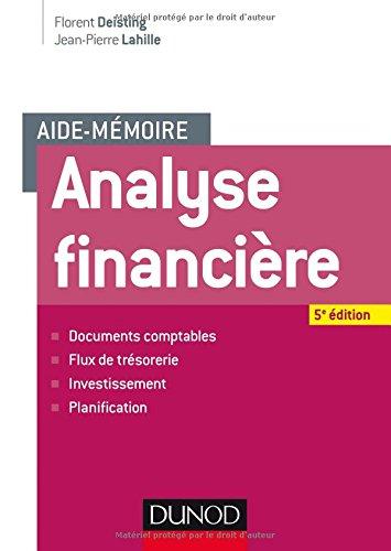 Aide-mmoire - Analyse financire - 5e d.