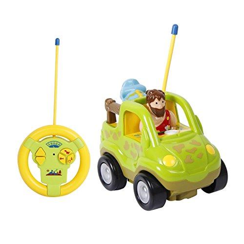 TONOR RC Control Remoto Juguete de Coche Infantil con Luces y Música Juguete Electrico para Bebés y Niños