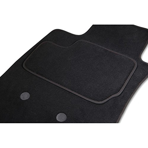 Tapis KADETT Break, 2 Avants GRIS/ROUGE, du 08.84 au 01.91 sur mesure. Gamme Tapis GOLD
