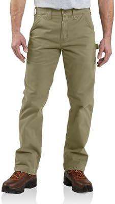Carhartt Pantalones Sarga, para Hombre Marrón  (Closeout) 46W/30L