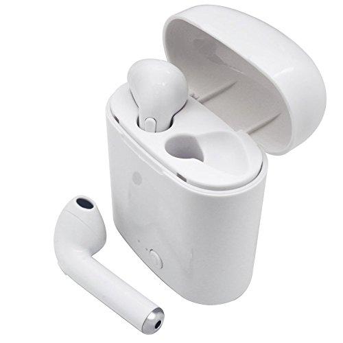 Auriculares Inalambricos, Bluetooth 4.2 Manos libres Bluetooth Auriculares inalambricos para iphone X, Iphone 8, Iphone 7, iphone 6 Samsung S8 Samsung S9 in Ear con Cargador Portátil y Reducción de Ruido para iOS y Android