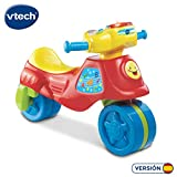 VTech - Super Moto correpasillos electrónica 2 en 1, Color Rojo (3480-181722)