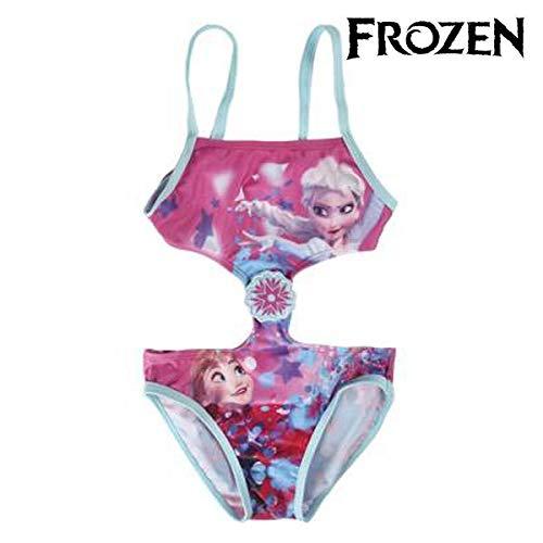 Disney Frozen 2200002744 Bañador, Rosa, Azul, 6 años para Niñas