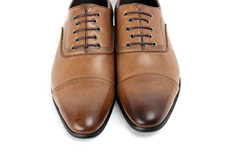 Hommes Élégant Office Lacet Chaussures Mariage Italian Robe Travail Décontracté Habillé taille UK Café