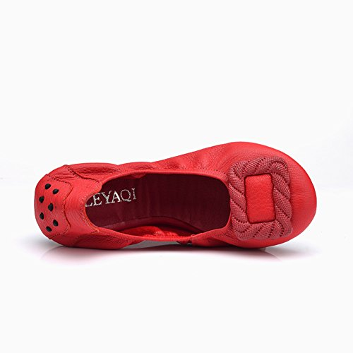 Soft egg roll shoes /Chaussures confortables/Chaussures de maman/Chaussures route fond plat C