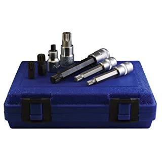 Assenmacher Specialty Tools 6300 12 Point Socket/Bit Set for Volkswagen/Porsche - 7 Piece