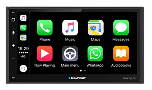 """Blaupunkt Monte Carlo 750 6.75"""" Capacitive Touchscreen/Android Auto/Apple Car Play/USB/Aux/BT Car Media Player"""