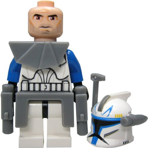 LEGO Star Wars Figur Kapitän Rex - Clone Wars - aus Set 7675 (Lego-sets Wars Star Wars Clone)