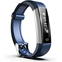 Smiphee Fitness Tracker N1 Activity Tracker Pedometer, Fitness Watch Waterproof Sports Smart Bracelet Fitness Wristband Watch Sleep Monitor for iOS & Android