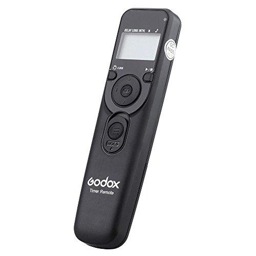 Market&YCY Godox UTR-C1 LCD Temporizador de obturación máquina, Fotografía Time-Lapse Personalizada para Canon EOS, Canon Powershot, Pentax, Contax, Samsung(Puede Cambiar la Linea)