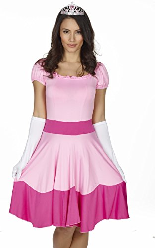 bd8ebb26753 Red Ribbon Lingerie Super Mario Style Pink Princess Peaches Costume