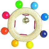 Heimess 733840 Wooden Ring Rattle (Bell)